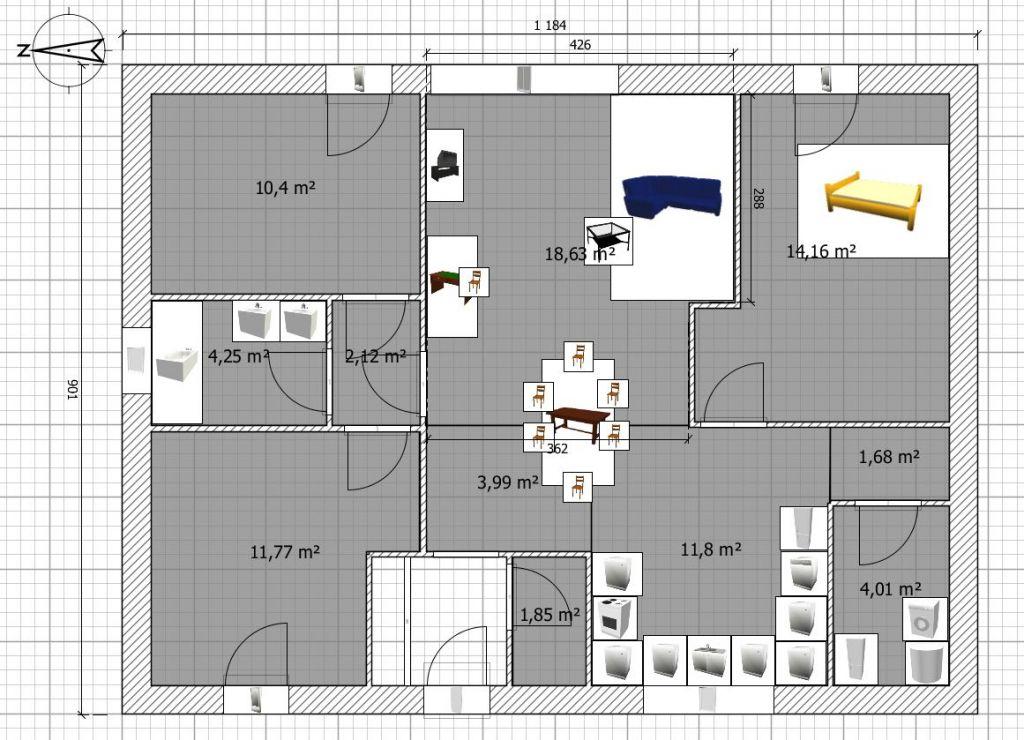 Vos avis sur un plan de maison plain pied 90m 44 for Concevez vos plans de maison