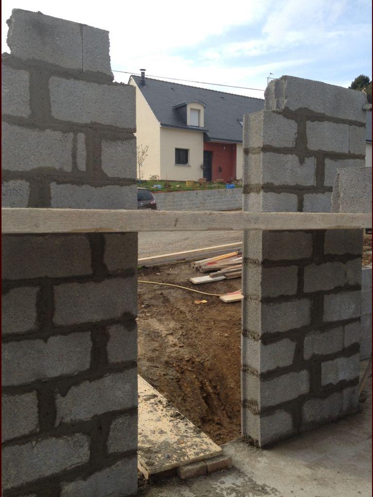 Montage des murs : 2e jour