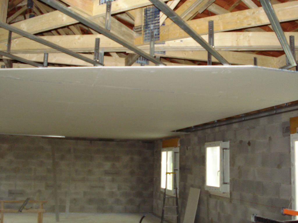 Mise en place du plafond