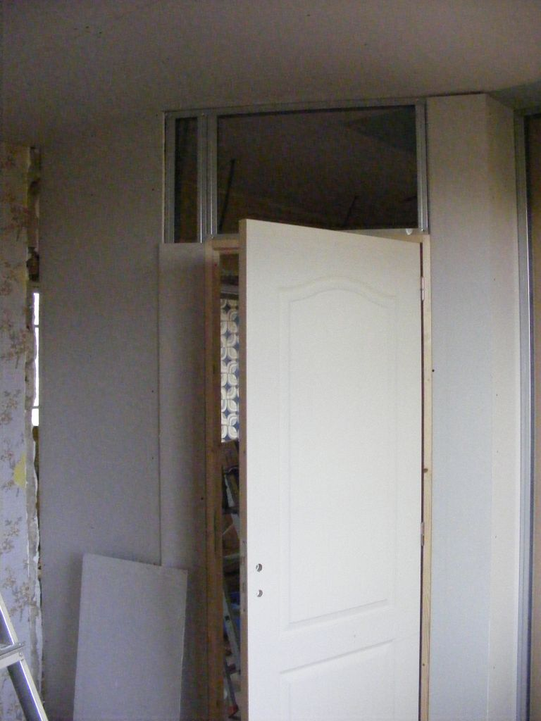 porte chambre , vue interieur