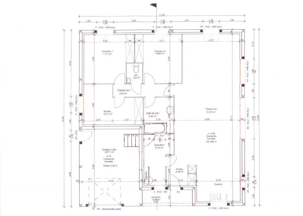 Plan maison avec tour carr e ventana blog for Idees plan maison
