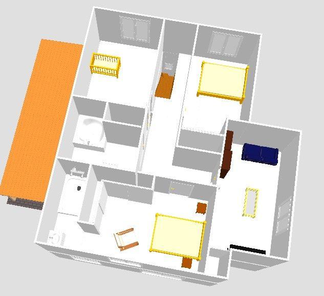 Avis plans de maison r 1 140 m2 avec d coch 46 messages for Plan comble amenageable
