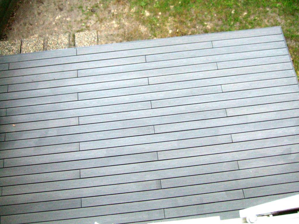 Terrasse bois composite Fiberon directement sur pelouse  34 messages