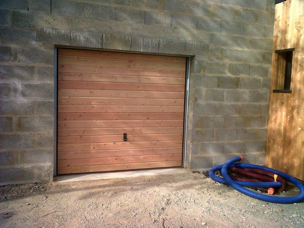 Porte de garage hormann vide personnalisable 29 messages - Encadrement porte de garage ...