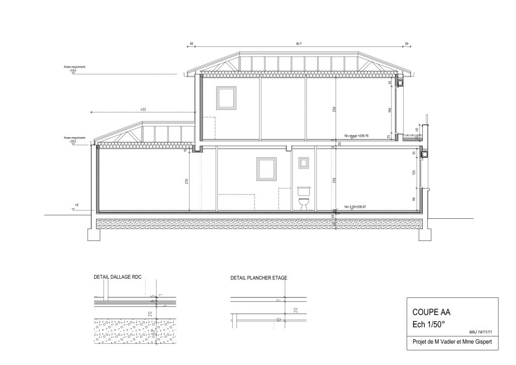 Isolation Terrasse Accessible R Uesistance Thermique Pour Un Toit Terrasse  With Coupe Toiture Terrasse