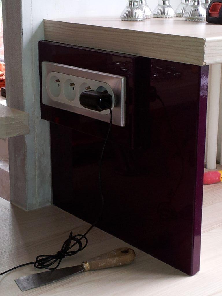 Tuto r aliser une porte de placard en palette auto for Bloc cuisine central
