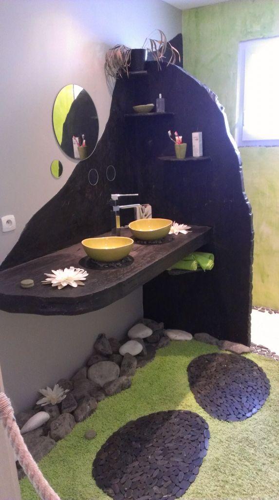 Idée de décor pour la salle de bain