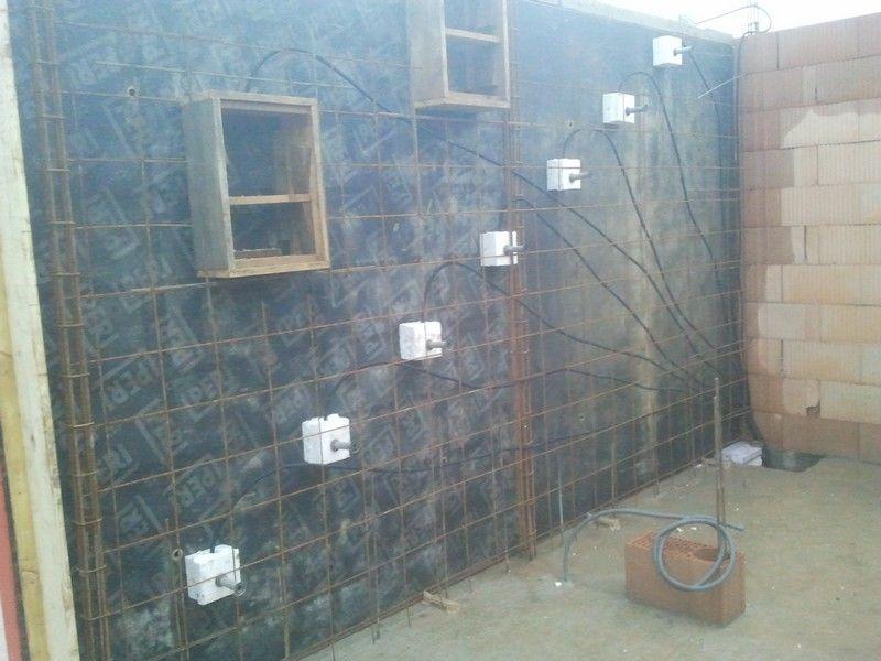 Installation Des Reservations Pour Lu0027eclairage De Lu0027escalier