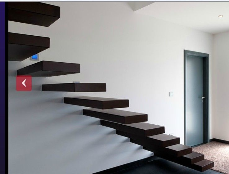 Murs du rdc escalier int rieur escalier limon cach for Limon escalier interieur