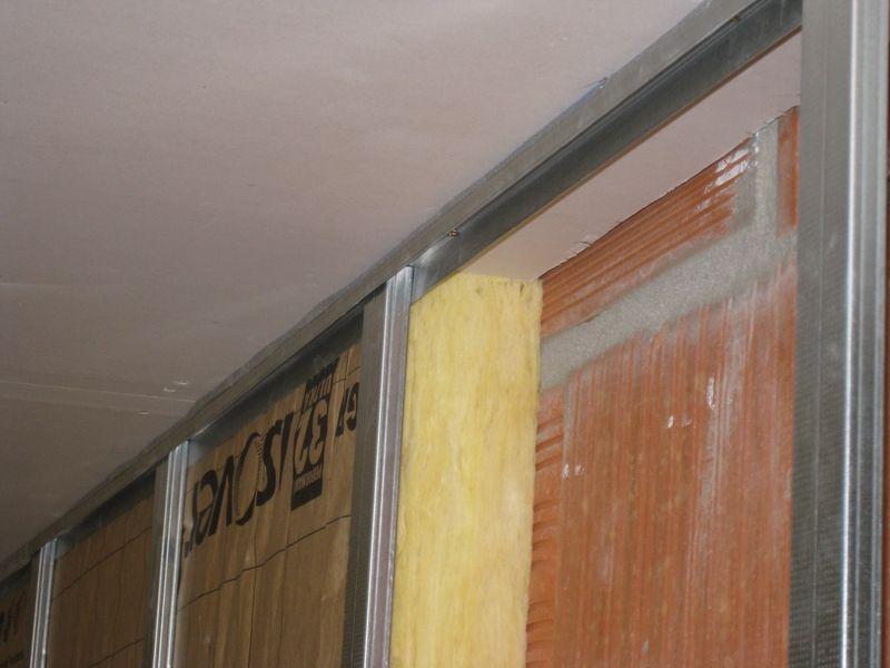 La pose du plafond la suite du plafond le doublage des - Lisse clip optima ...