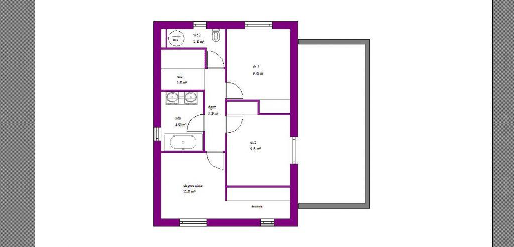 plan maison sur terrain troit vos avis 27 messages. Black Bedroom Furniture Sets. Home Design Ideas