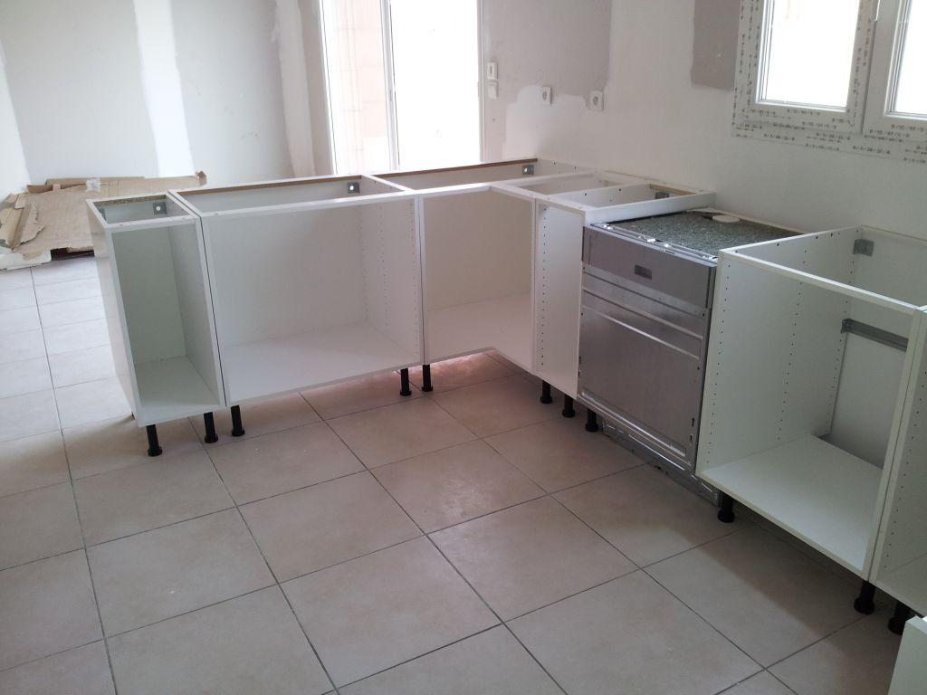 Preparation pose cuisine installation cuisine for Installation cuisine