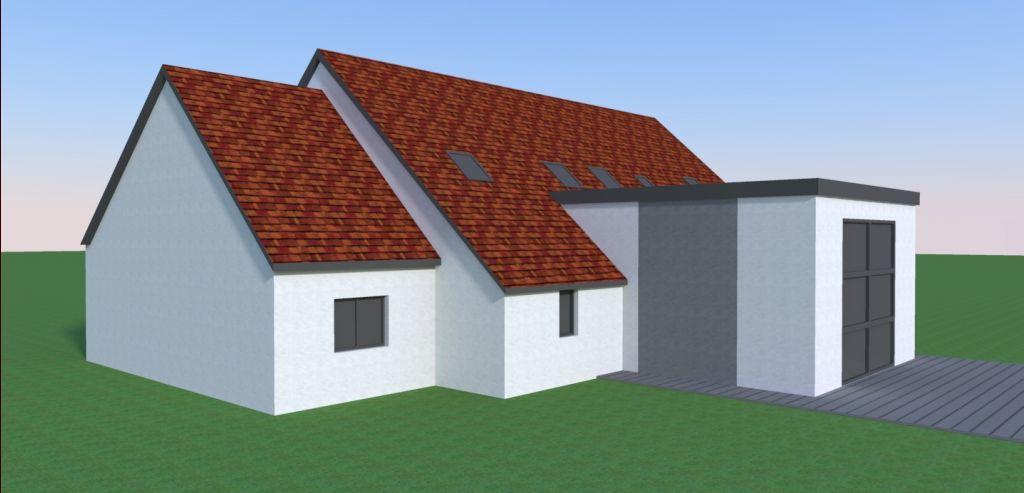 Agrandissement de notre maison la campagne la chapelle for Agrandissement maison autorisation
