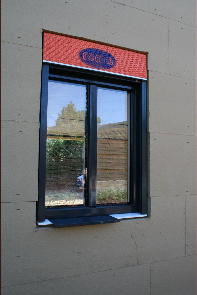 Fenêtre du bureau, vue extérieure