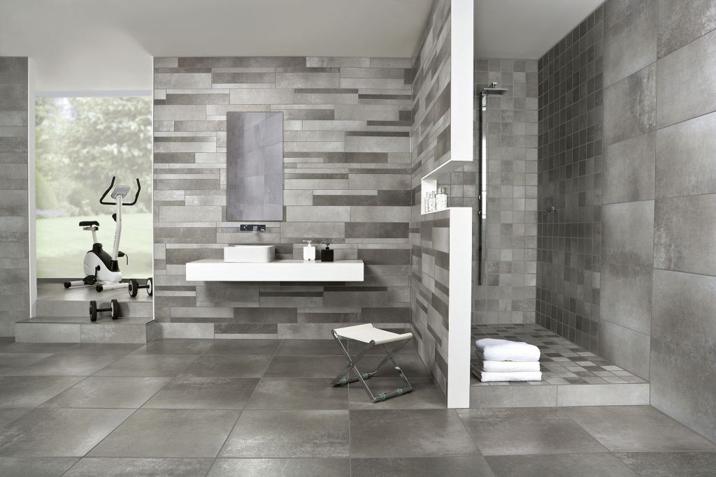 Enduit beton hydrofuge salle de bain salle de bains - Enduit mur salle de bain ...