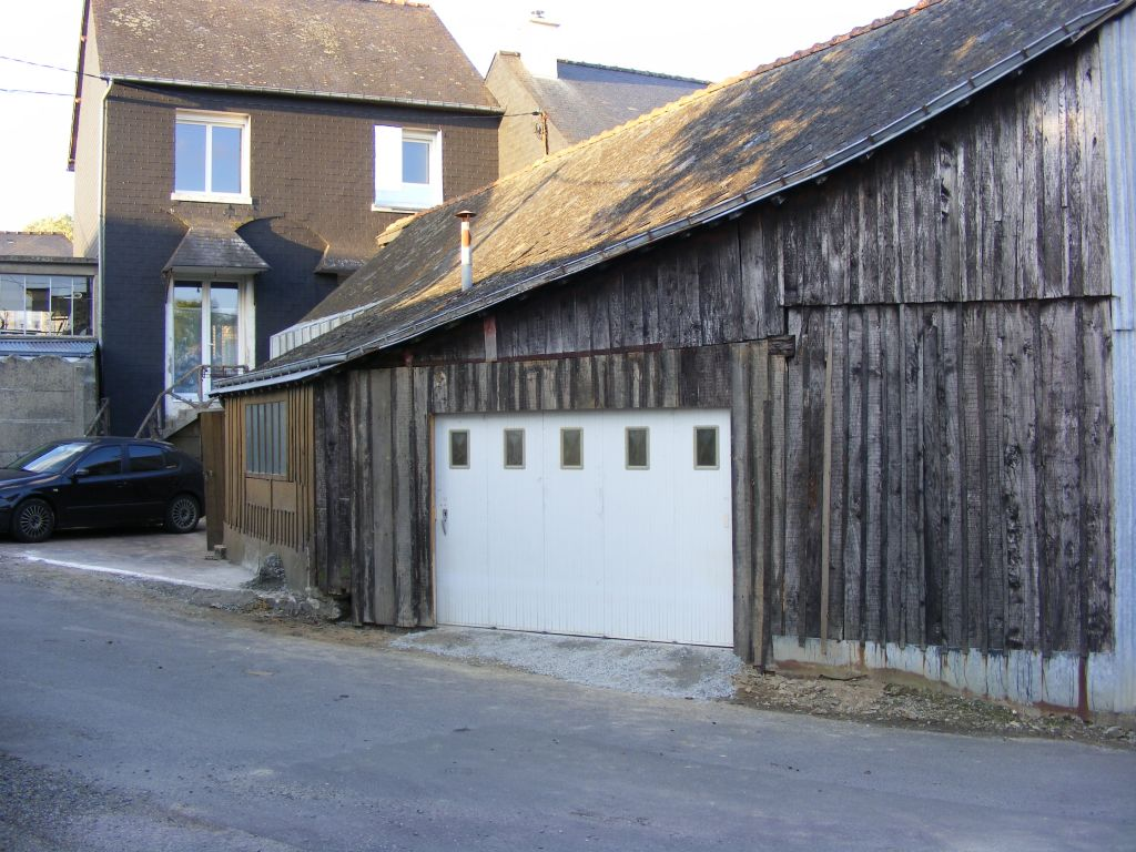 porte garage du hangar
