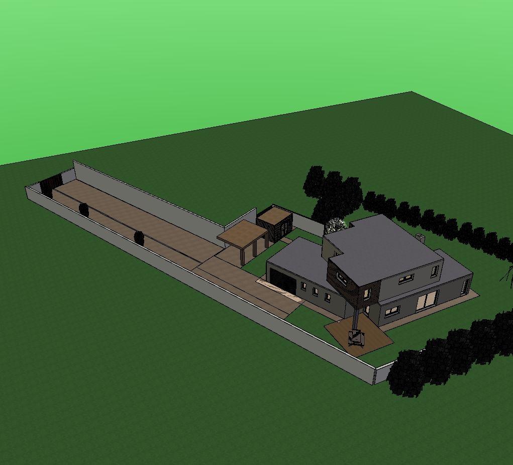 20120604 - Accord pour la DP relative au carport et à l'abri de jardin.