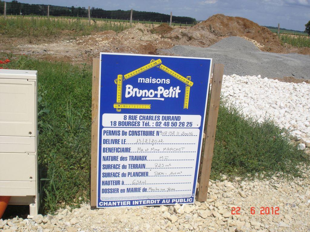 Ouverture de chantier le 21 Juin 2012 <br /> En avant la musique....