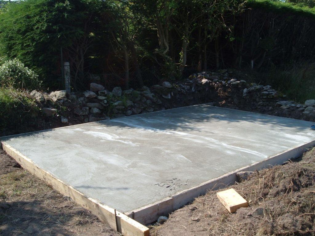 Tourlaville maison neuve dans la cotentin tourlaville for Dalle beton colore exterieur