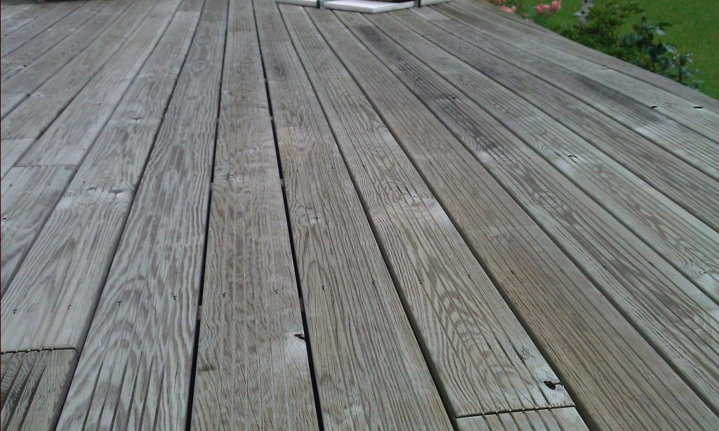 Terrasse En Pin Qui Se Degrade Expertise Echantillon Bois