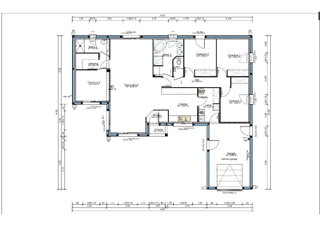 Plans de maisons de formes originales - Louresse Rochemenier (Maine Et Loire - 49) - juillet 2012
