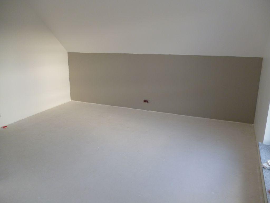 #586074 Chauffage: Mise En Chauffe J4 Peinture : Sous Rampant De  2229 peinture chambre parentale taupe 1024x768 px @ aertt.com