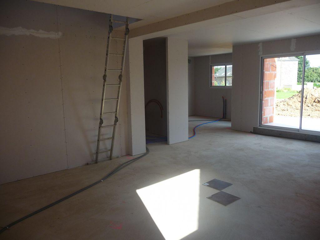 pose des menuiseries exterieures place l 39 isolation et aux cloisons les bonnes nouvelles s. Black Bedroom Furniture Sets. Home Design Ideas
