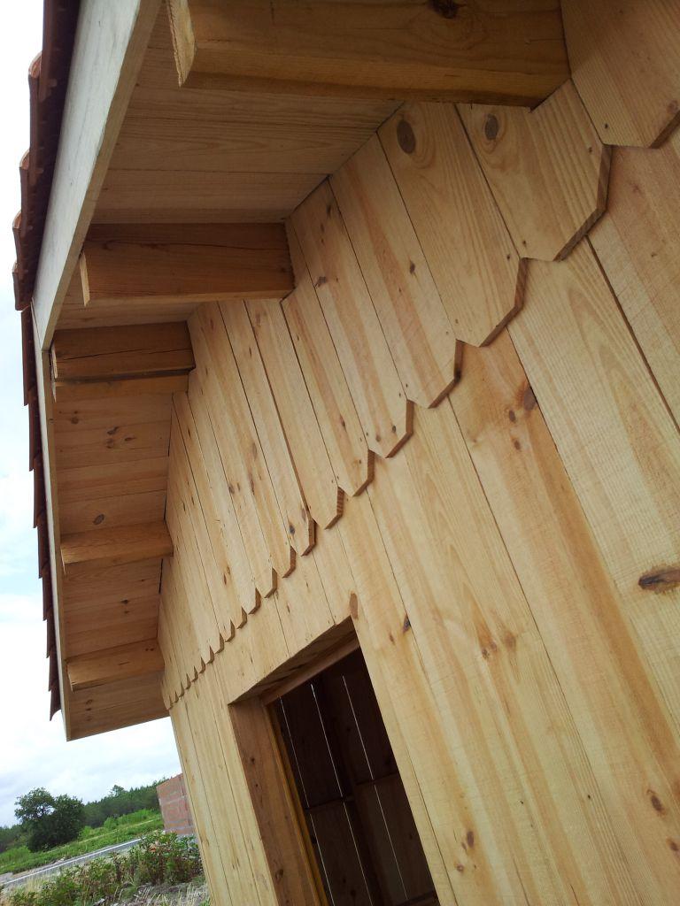planches de rive et sous toit finition du bardage traitement du bardage biganos gironde. Black Bedroom Furniture Sets. Home Design Ideas