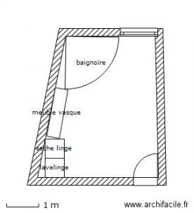 Refaire une salle de bain de 13m plan - Refaire sa salle de bain soi meme ...