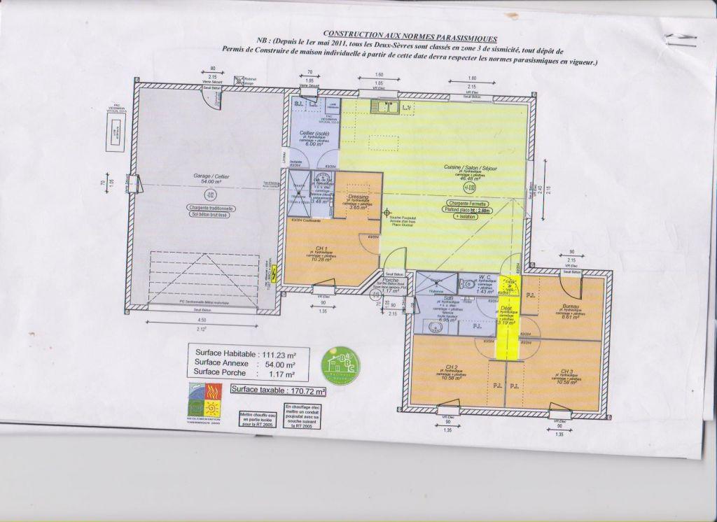Mon autre plan maison 115m2 17 messages for Mon plan de maison parfait