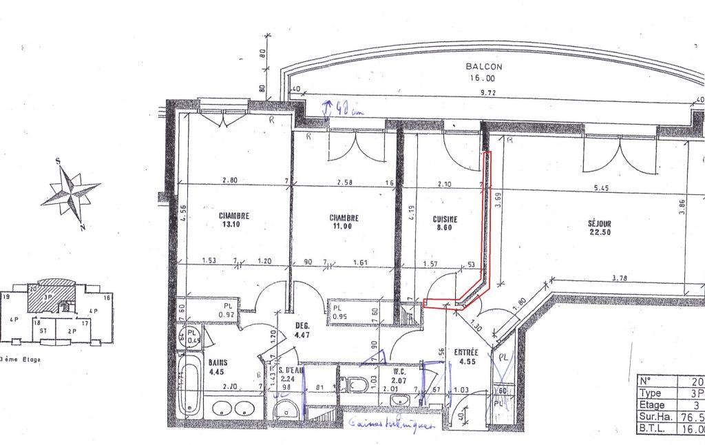 supprimer une cloison a priori non porteuse et ensuite. Black Bedroom Furniture Sets. Home Design Ideas
