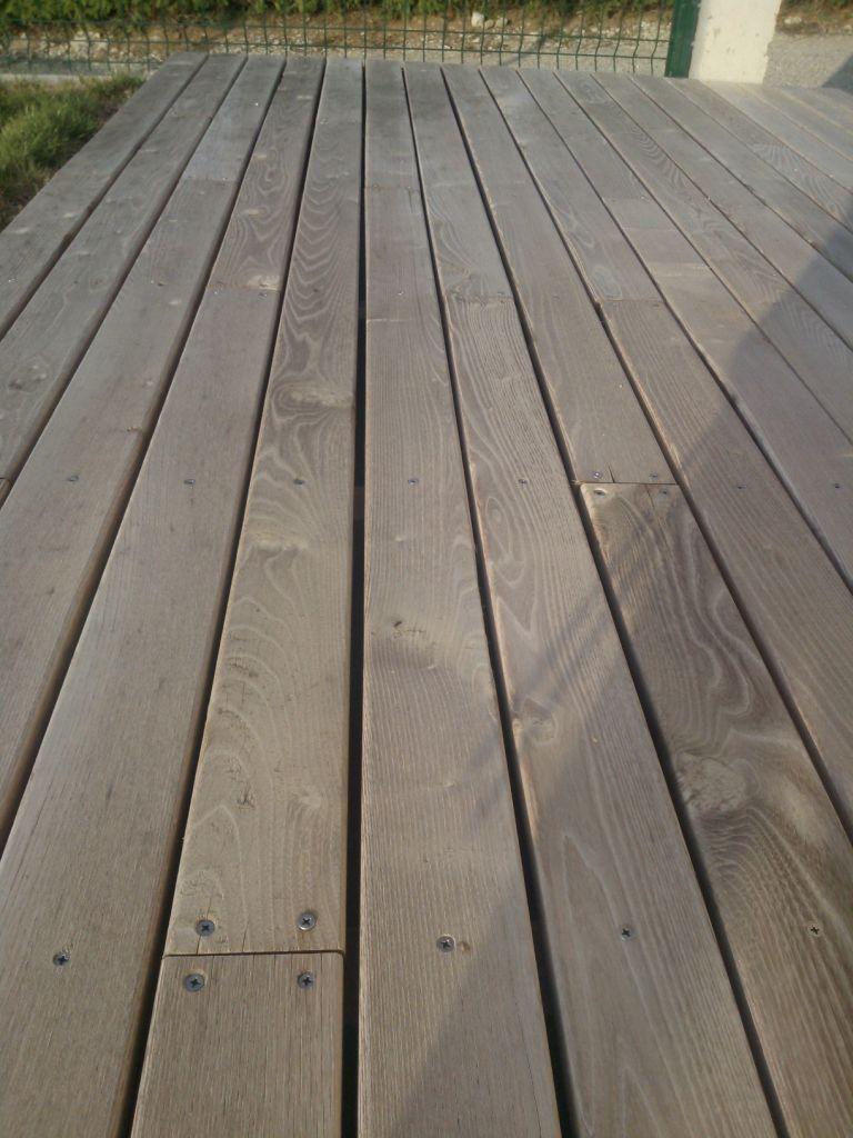 Terrasse acacia avis top avis terrasse bois composite - Terrasse composite avis ...