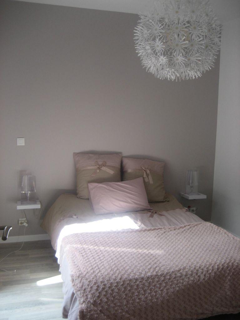 Chambre d'adultes mobilier blanc - Ille Et Vilaine (35) - aout 2012