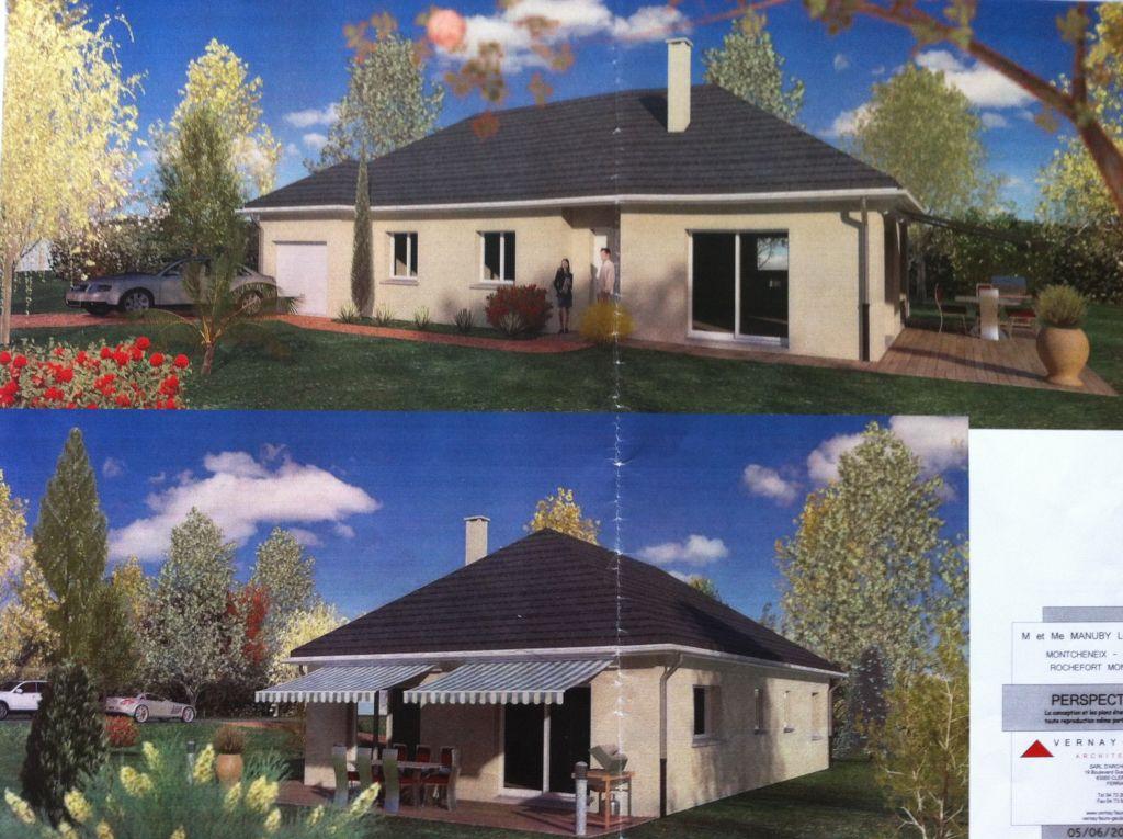 Vue de l?extérieur de la maison en 3D