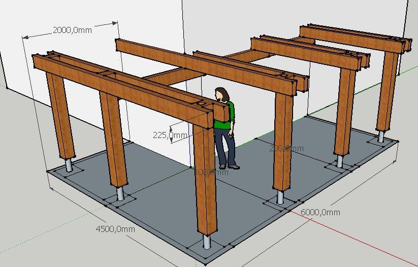 Projet terrasse sur pilotis 13 messages for Terrasse sur pilotis en bois