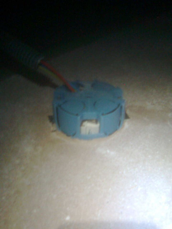Isolation ouate de cellulose clairage plafonnier 18 - Plafonnier de chantier ...