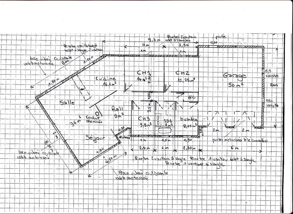 Plan maison en v 33 messages for Plan de maison de 90m2
