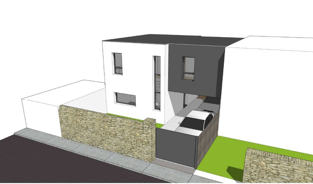 Prsentation du projet with forum construire maison - Maison simple a construire ...