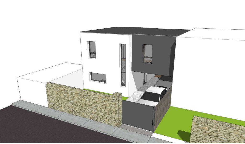 maison d 39 architecte dans le centre de nantes nantes. Black Bedroom Furniture Sets. Home Design Ideas