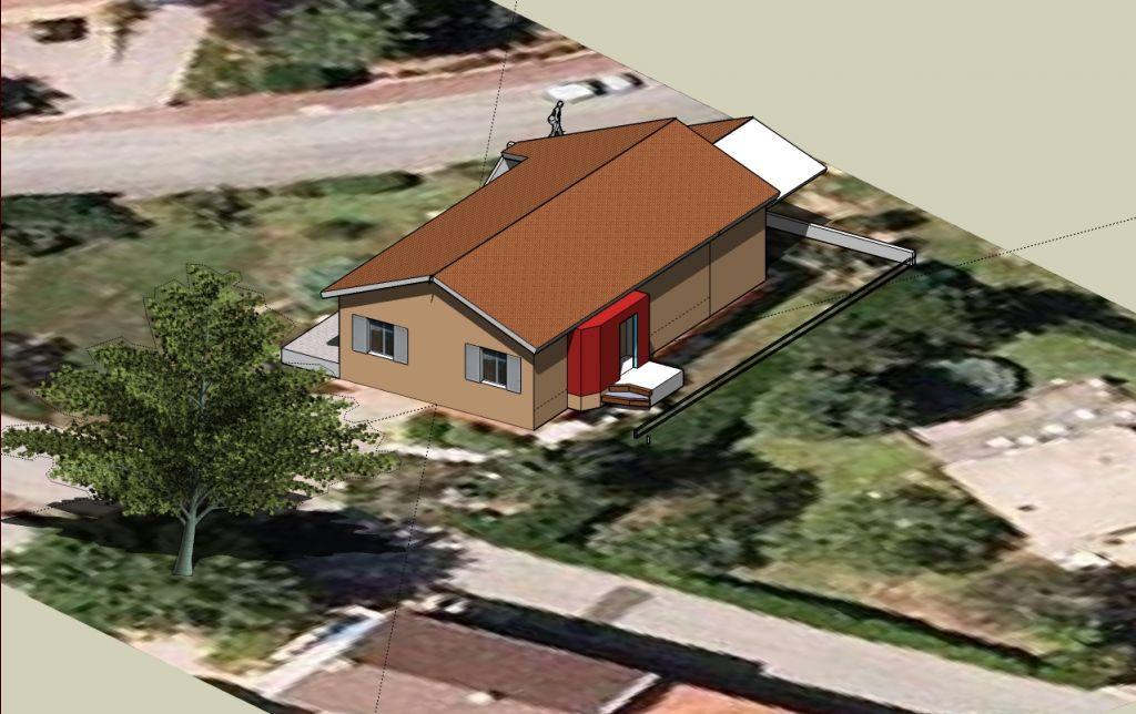 avanc e de toit pour couvrir la terrasse bonne ou mauvaise id e pour le soleil l 39 hiver 21. Black Bedroom Furniture Sets. Home Design Ideas