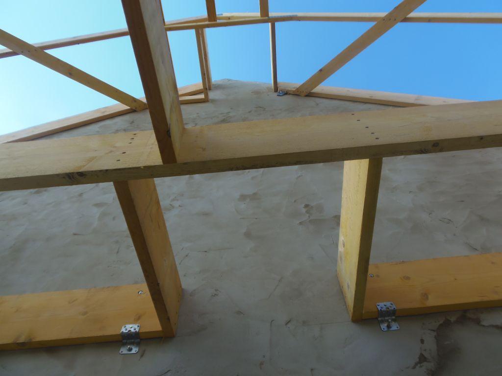 Emplacement de la futur cheminée