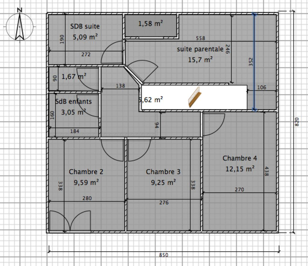 appartement loft dans maison 110m2 en duplex t5 34 messages. Black Bedroom Furniture Sets. Home Design Ideas