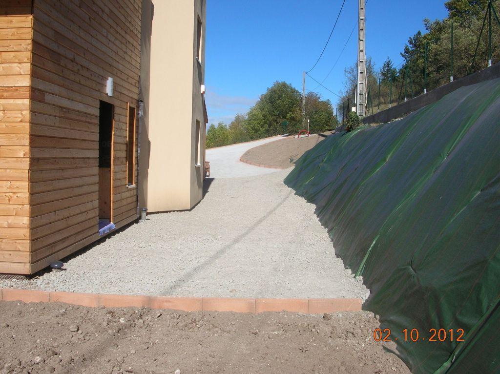 La suite descente de garage b chage des talus puy de dome mode blog for Allee de jardin en tout venant