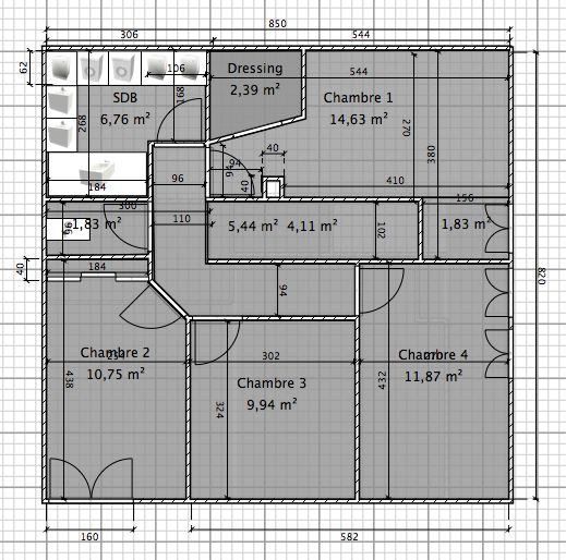 plan appartement 110m2