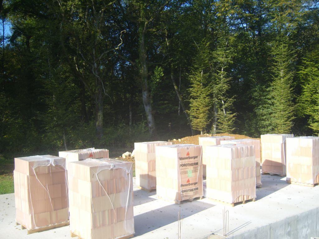Livraison briques