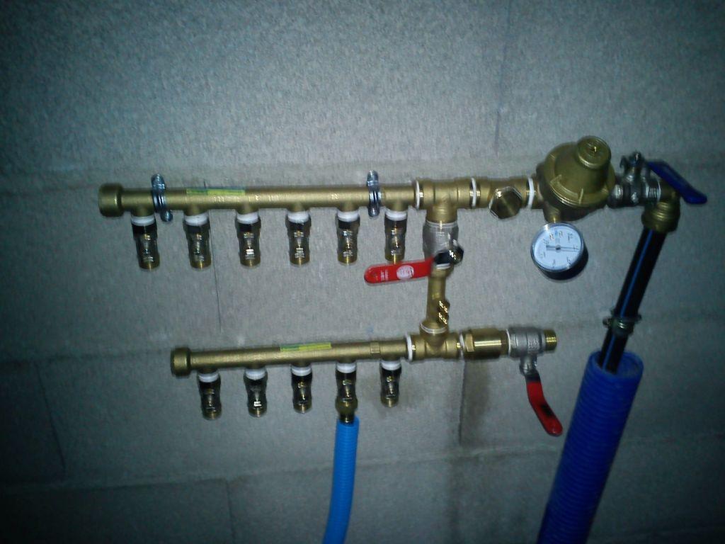 Collecteur eau froide du rdc
