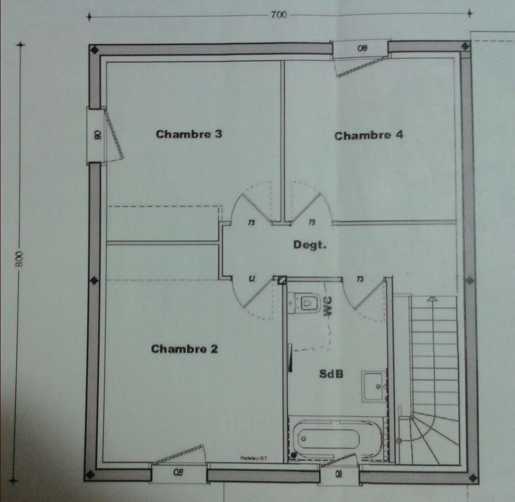 Plan trecobat v1 etage