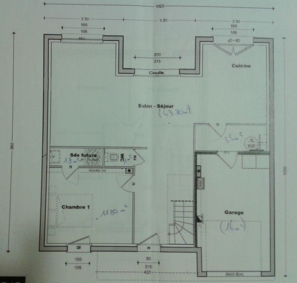 Plan trecobat v1 rez de chaussée