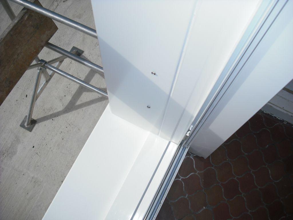 Tuto transformation d 39 une fen tre en porte sur maison for Fenetre mur porteur