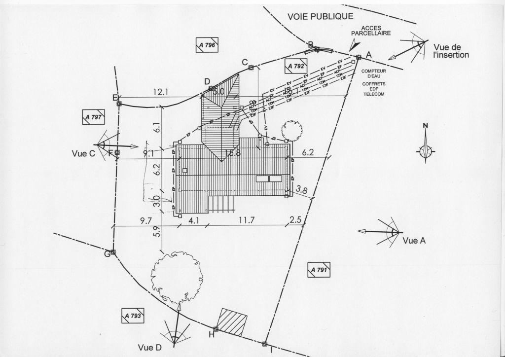 Plan d'ensemble du 1er projet